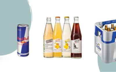 Getränkeangebote für heiße August Tage